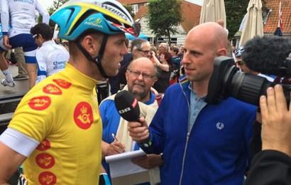 Stor cykelviden bag mikrofonerne ved weekendens cykelfest i Holbæk