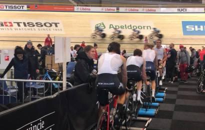 40 nationer deltager ved bane-VM i Apeldoorn