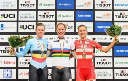 VM-bronze til Amalie Dideriksen. Guld til Kirsten Wild