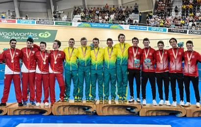 Verdensrekord af Australien i holdforfølgelse!