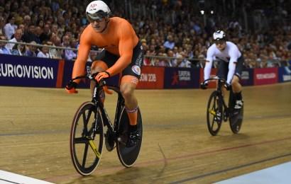 Jeffrey Hoogland europamester i sprint efter imponerende kørsel