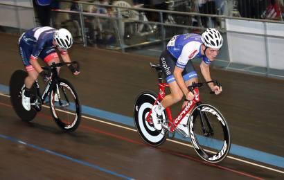 Gode placeringer af dansk rytter i Eddy Merckx velodromen