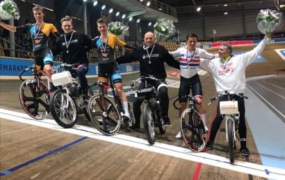 Oliver Wulff Frederiksen vinder af DBCs Derny-mesterskab 2018