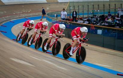 Danmark nr. tre på den olympiske rangliste i holdforfølgelse