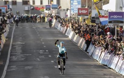 Fem danskere har kørt i top-10 i Omloop Het Nieuwsblad