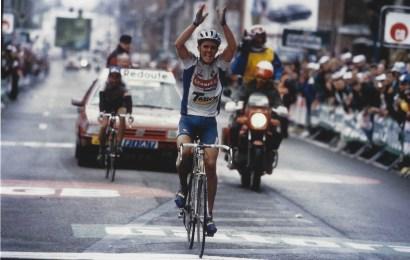 Ugens nostalgiske foto: Rolf Sørensen vinder af Liége-Bastogne-Liége 1993