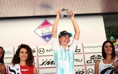 Dansker kørte sig på podiet i Trofeo Alfredo Binda