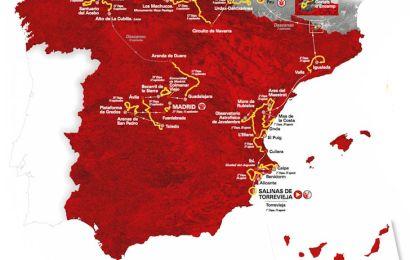 Tid til Vuelta a España nr. 74