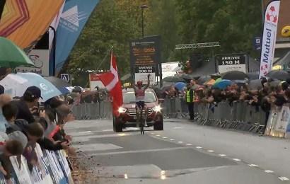 Mads Pedersen vinder af GP d'Isbergues