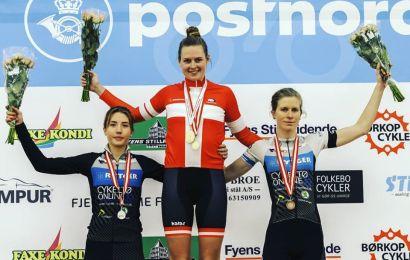Amalie Winther Olsen dansk mester i pointløb 2019