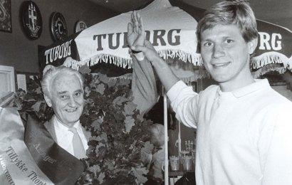 Ved DBCs Nytårsstævne uddeler Thorkild Madsen fonden legat for 34. gang