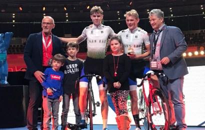 Dansk U19 par fører i Berlin