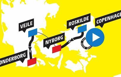 Fakta om den danske Tour de France start