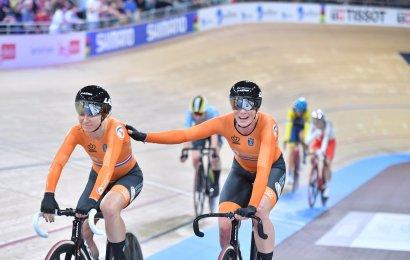 Femteplads til Danmark i kvindernes parløb. Hollandsk sejr