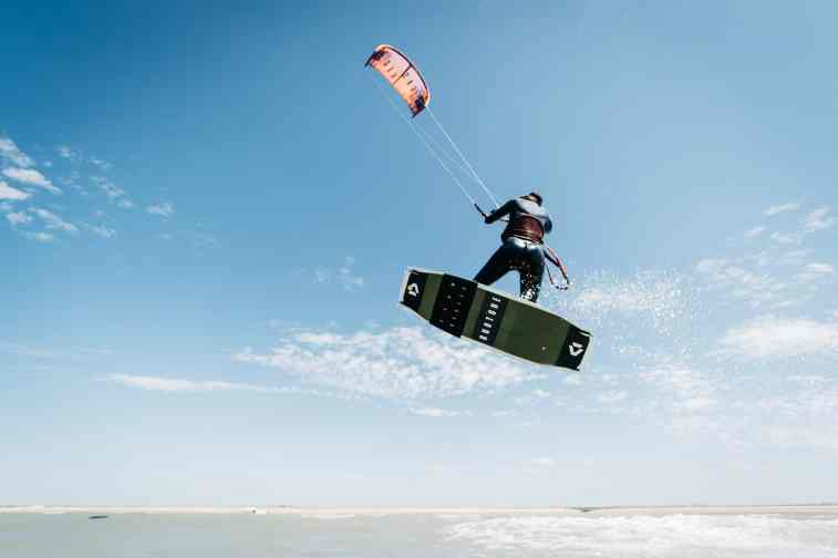 Kite Surf à Anneville-sur-Mer