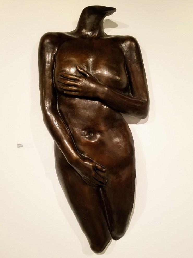 Aphrodite Female Torso Bronze Sculpture by Adam Nahas from Cyclops Studios