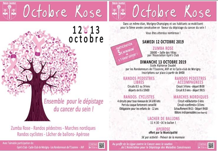 Morigny-Champigny / Randonnée pour la lutte contre le cancer