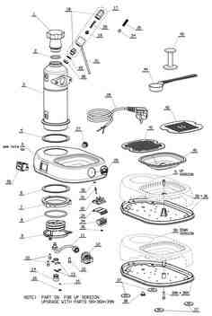 Spare Parts For Gaggia Coffee Machines + cyclovent