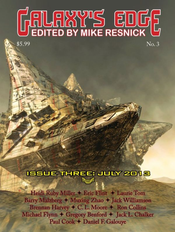 Galaxy's Edge #3, July 2013