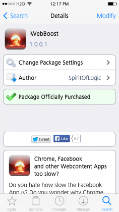 iwebboost cydia tweak