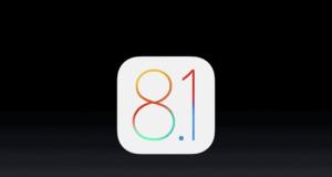 upgrade to ios 8.1
