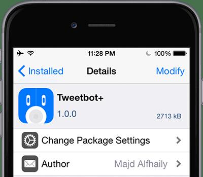 tweetbot+ cydia tweak iOS 8