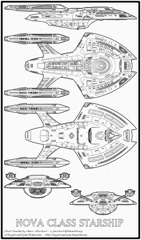 Star Trek Blueprints: Adam Heinbuch Schematics