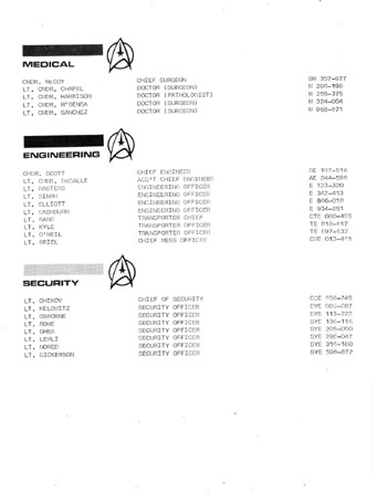 Star Trek Blueprints: U.S.S. Enterprise Officer's Manual