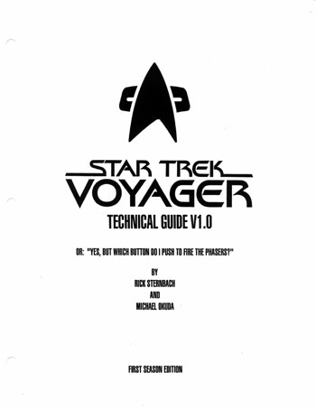 Star Trek Blueprints: Star Trek: Voyager Technical Manual