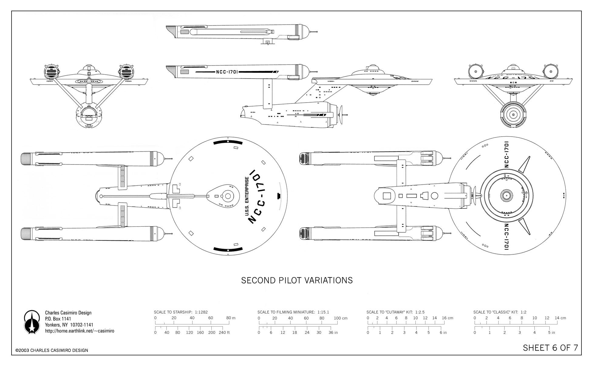 uss enterprise diagram 3 wire stop start wiring u s ncc 1701 blueprints by charles casimiro design