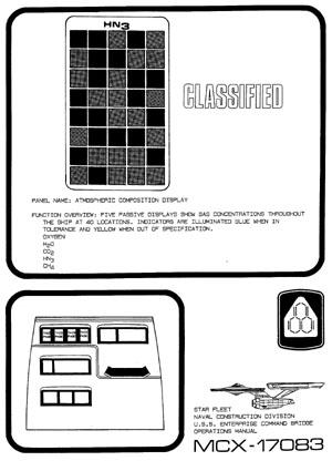 Star Trek Blueprints: U.S.S. Enterprise NCC-1701 Command