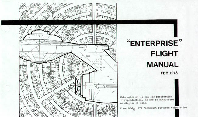 Star Trek Blueprints: Enterprise Flight Manual