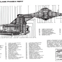 Uss Constitution Diagram Dell Inspiron 530 Motherboard Star Trek Blueprints Starship U S Enterprise Ncc 1701