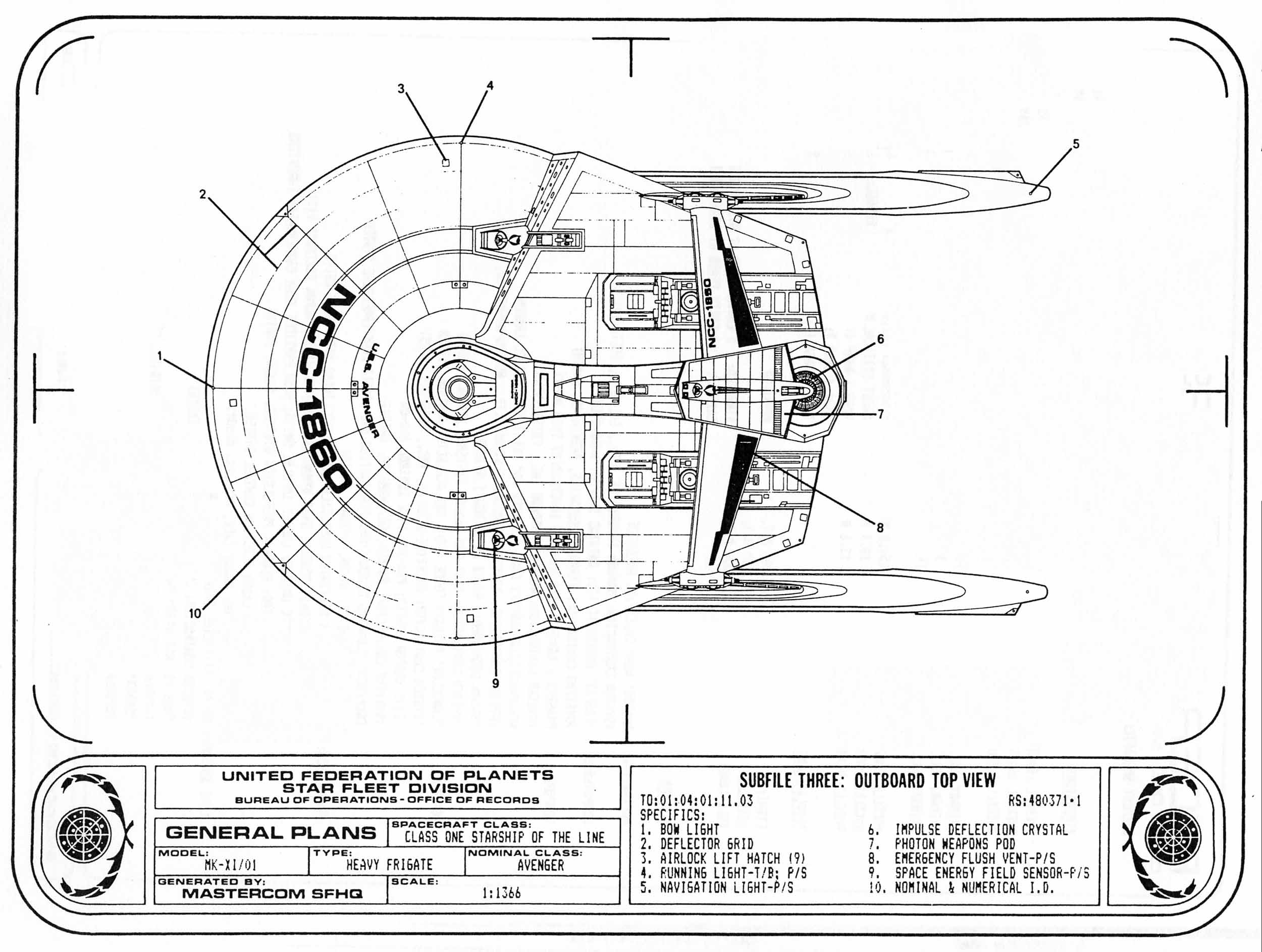 Lcars Star Trek Ship Schematics