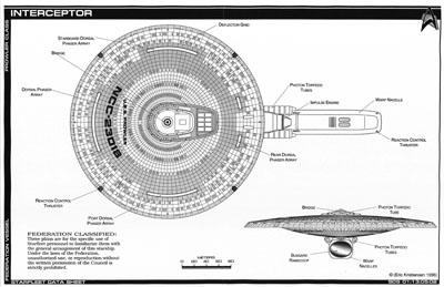 Star Trek Blueprints: Jackill's Starfleet Interceptor
