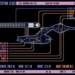 Uss Enterprise Diagram 2000 Ford Explorer Wiring Star Trek Engineering Schematics Manual E Books Blueprints Lcars 24 Schematicsconstitution Class U S Ncc 1701
