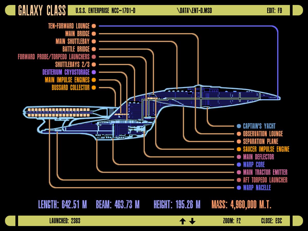 uss enterprise diagram bmw e38 dsp wiring star trek lcars blueprint database blueprints