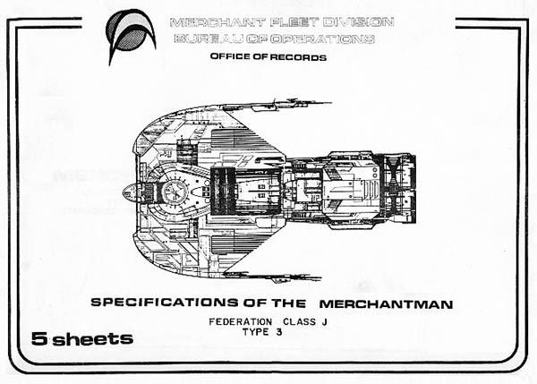 Star Trek Blueprints: Merchantman Federation Class J