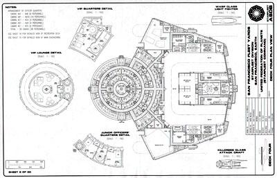 Star Trek Blueprints: Miranda Class Cruiser General Plans