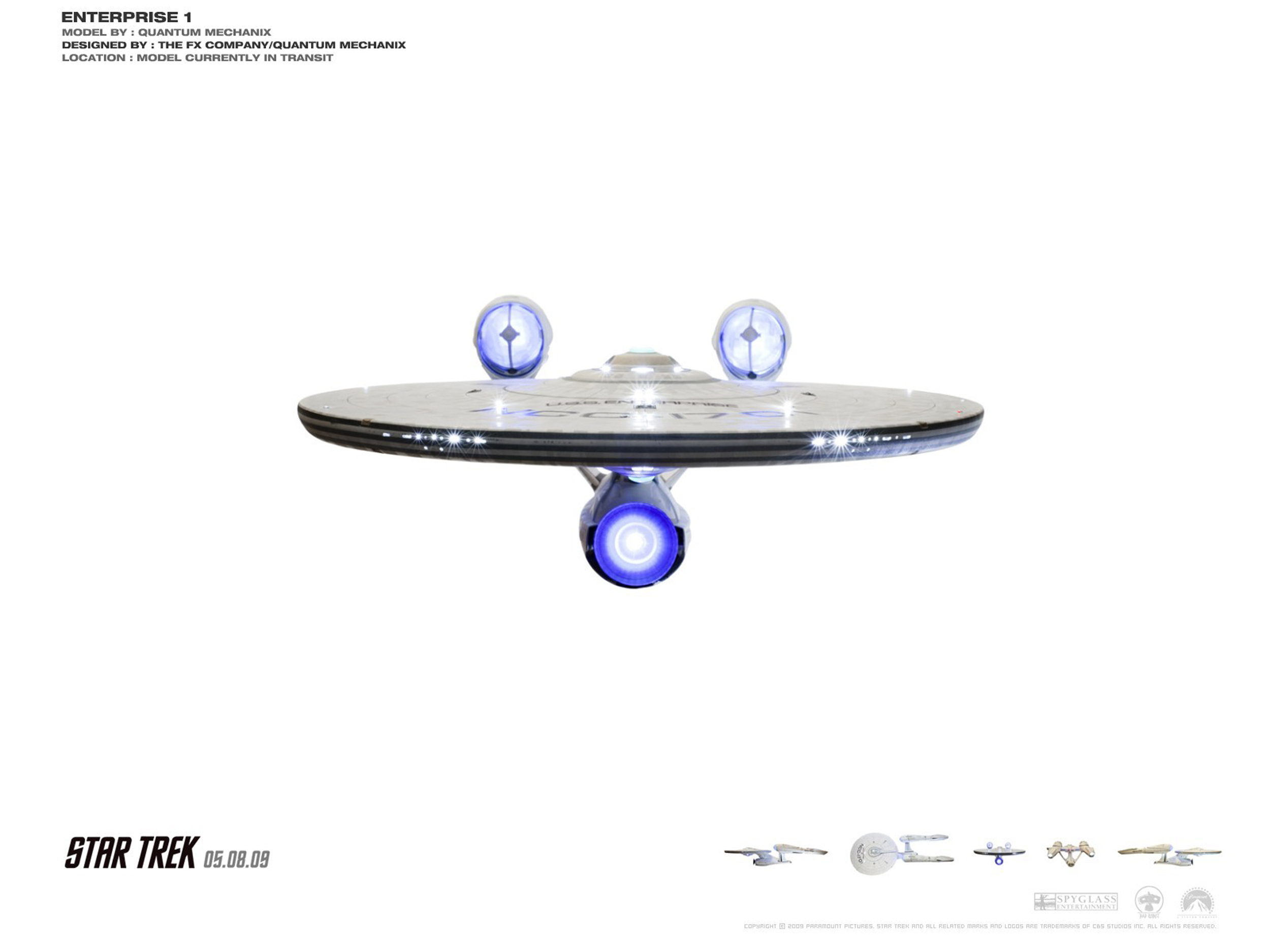 Star Trek Blueprints New U S S Enterprise Ncc