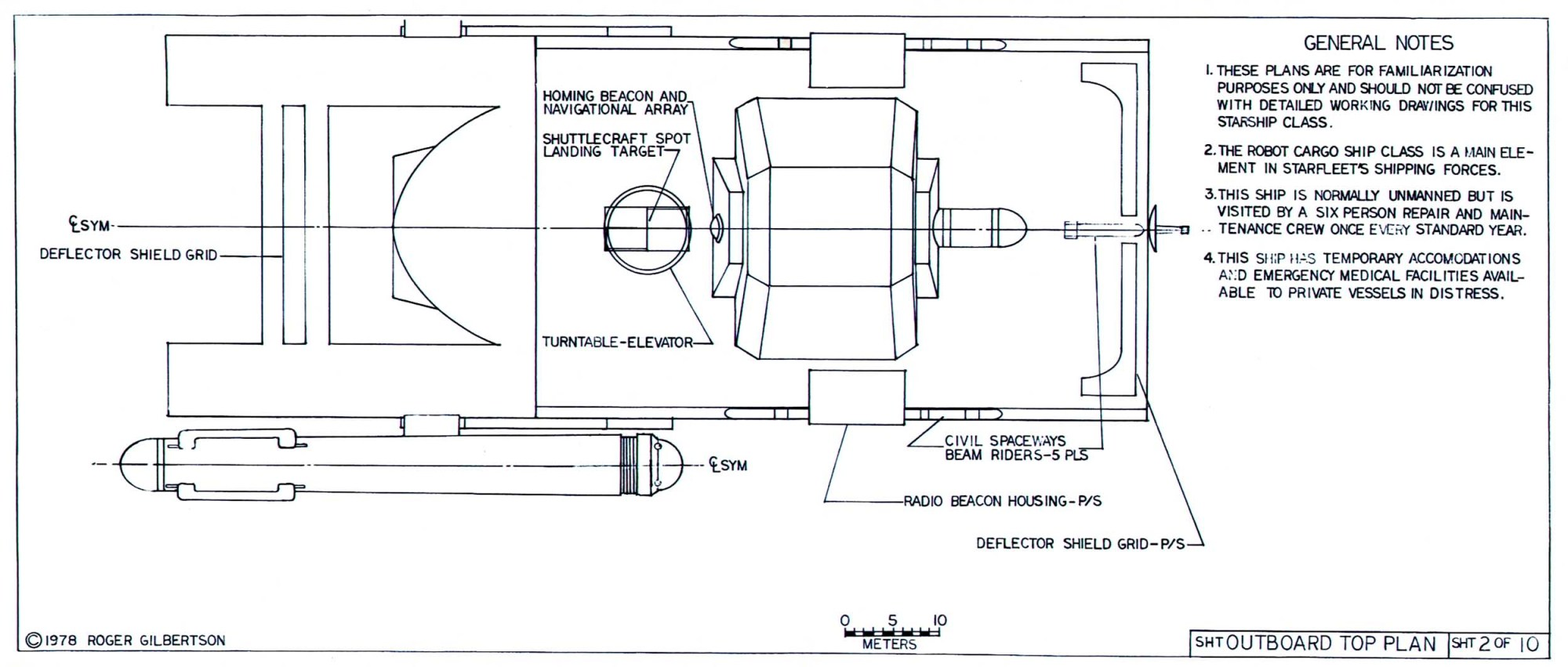 hight resolution of mk xii robot cargo ship
