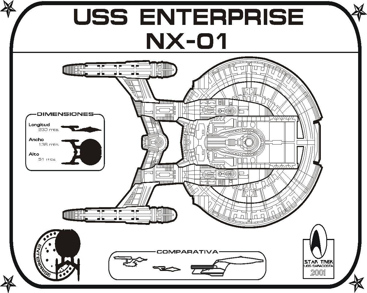 Star Trek Blueprints U S S Saracosta Ncc Website