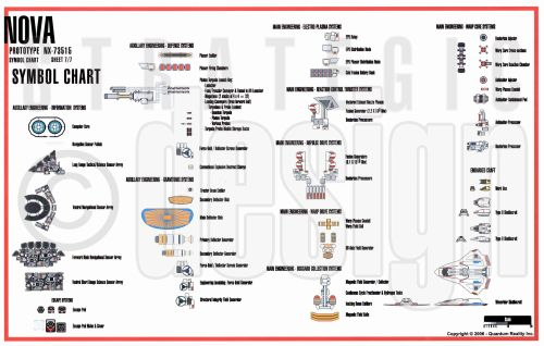 small resolution of floor plan symbols chart star trek blueprints u s s nova nx 73515