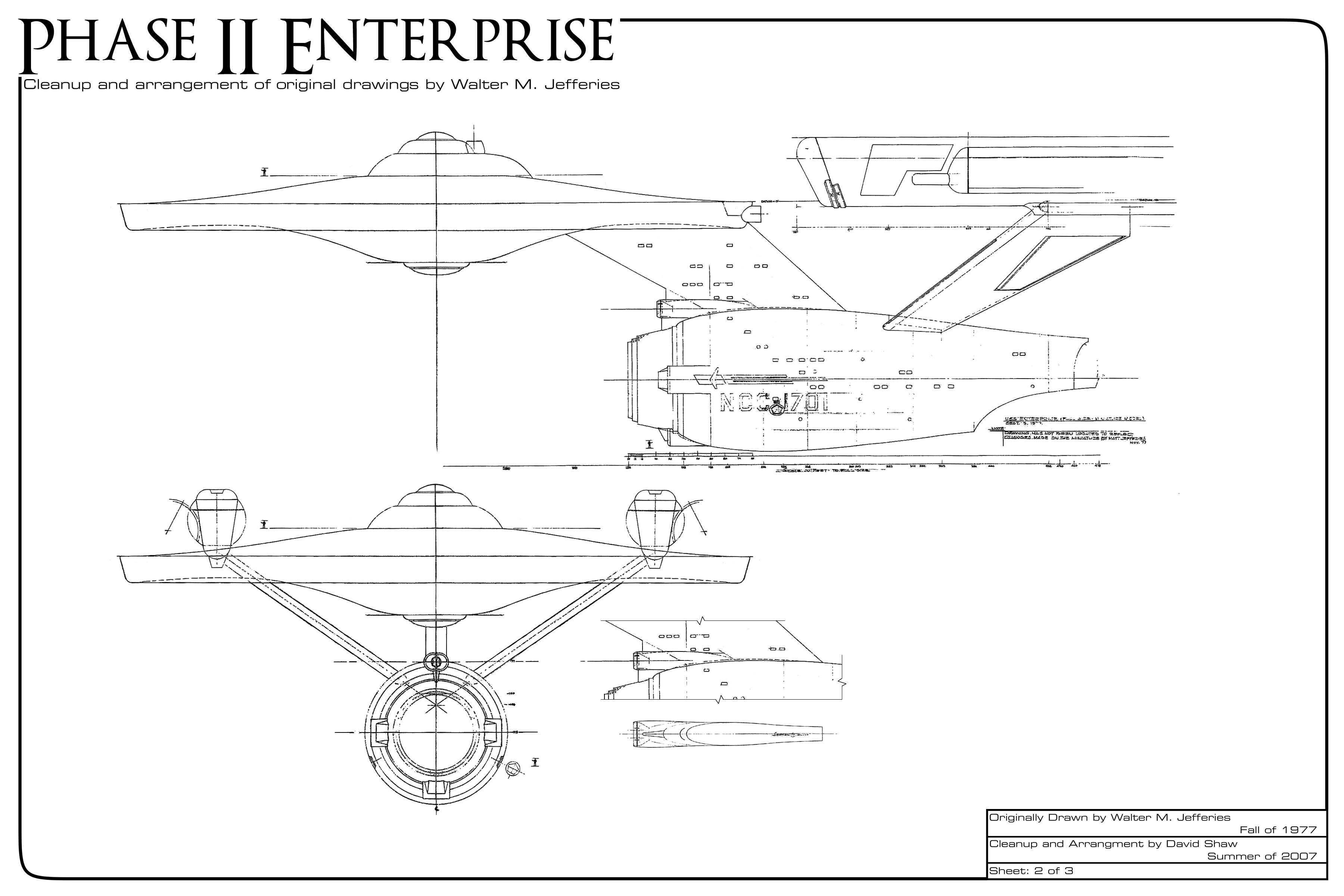 Star Trek Phase Ii Enterprise