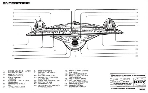 small resolution of sovereign class federation starship u s s enterprise ncc 1701 e