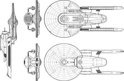 Star Trek Blueprints: U.S.S. Churchill NCC-2713 Advanced