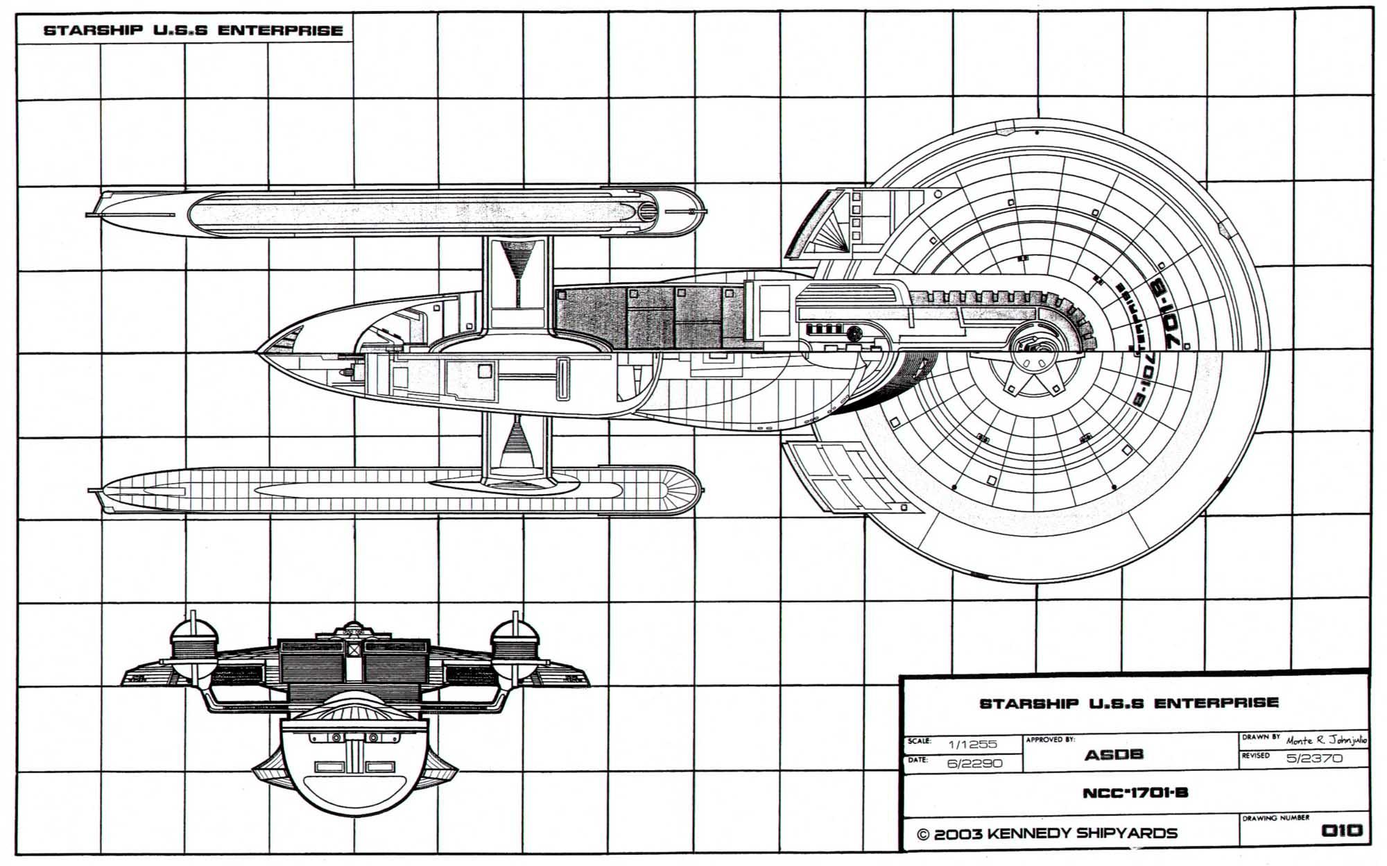 Starfleet Vessel: U.S.S. Enterprise NCC-1701-B: General