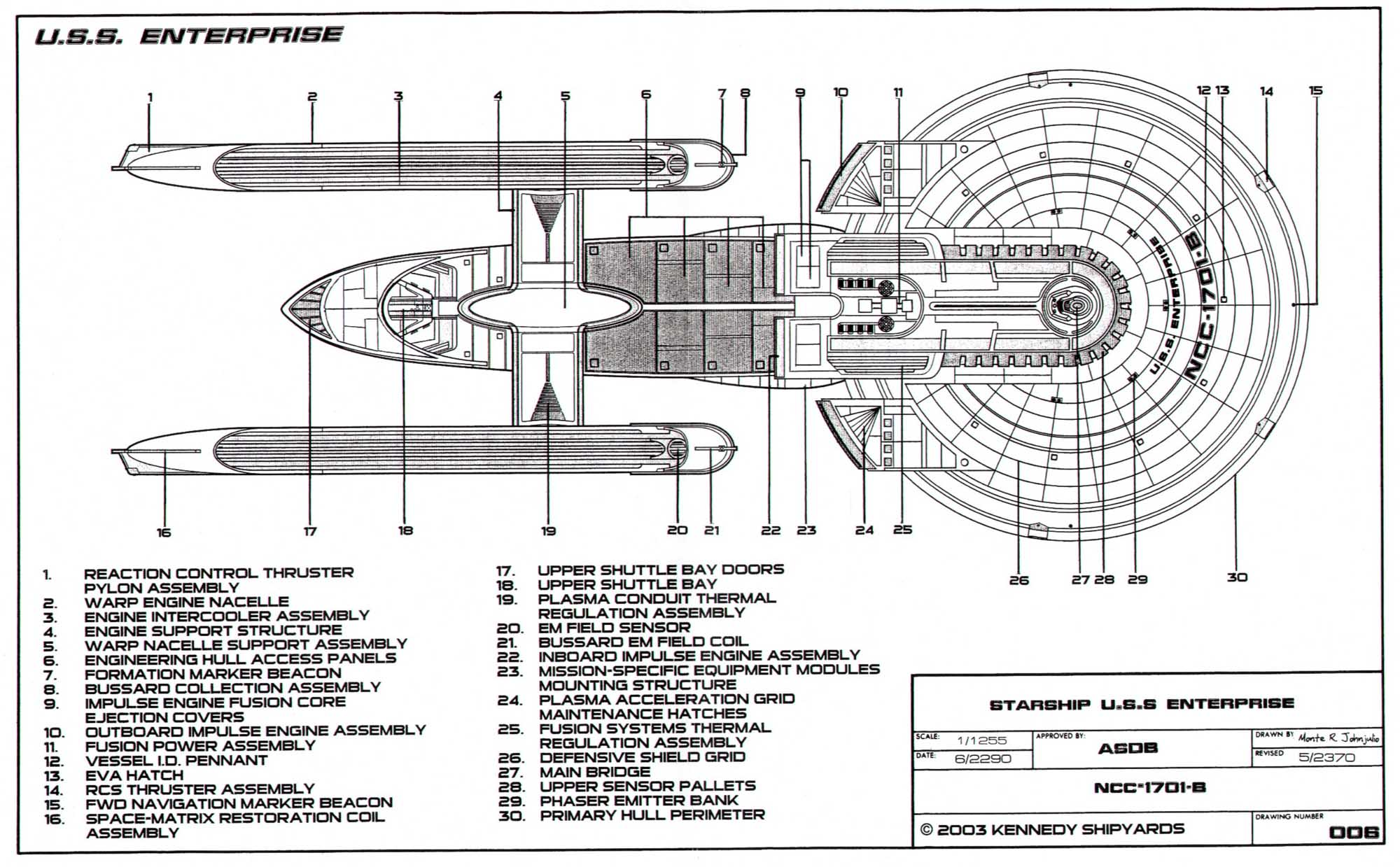 Schematic Uss Enterprise – The Wiring Diagram