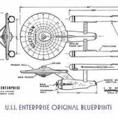 Uss Enterprise Diagram General Electric Motors Wiring Star Trek Blueprint Database U S Space Cruiser