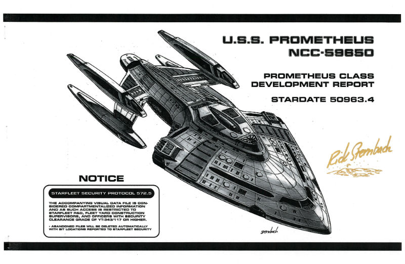 Star Trek Blueprints: U.S.S. Prometheus NCC-59650